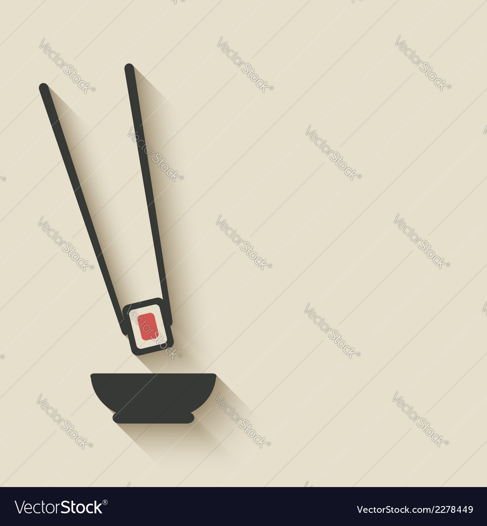 Sushi roll icon-02 vector | Price: 1 Credit (USD $1)