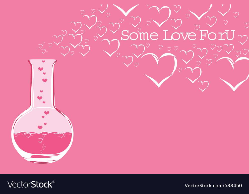 Chemistry love vector | Price: 1 Credit (USD $1)