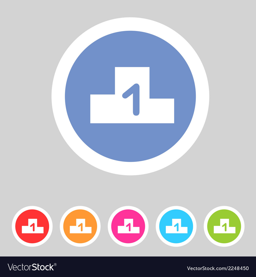 Flat game graphics icon chart vector | Price: 1 Credit (USD $1)