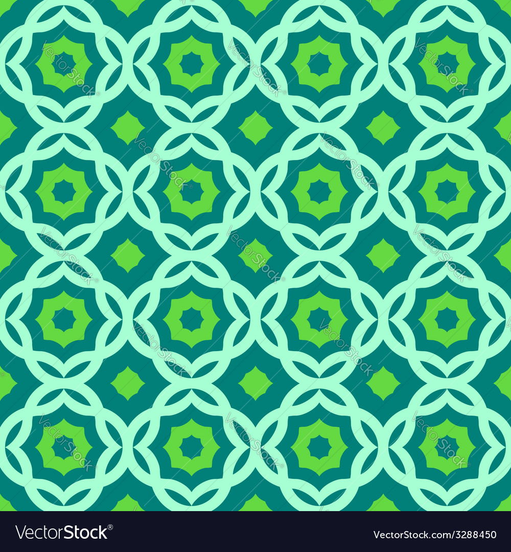 Green geometric pattern vector | Price: 1 Credit (USD $1)