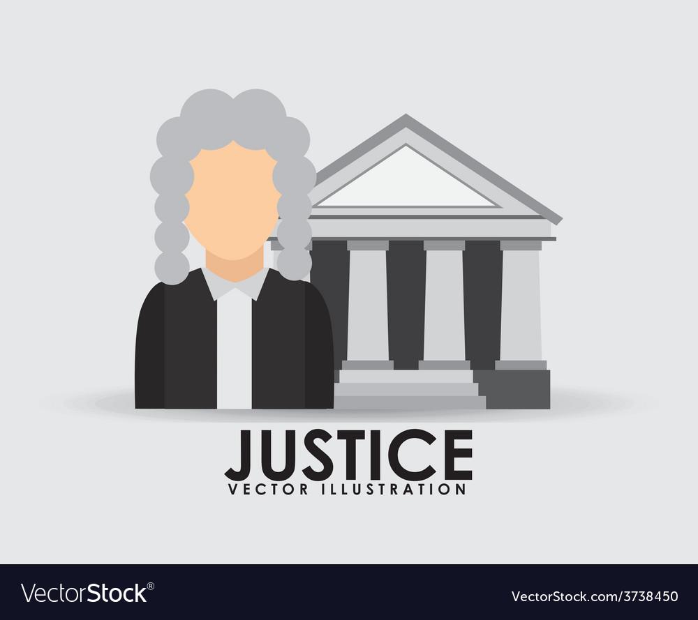 Justice icon design vector   Price: 1 Credit (USD $1)