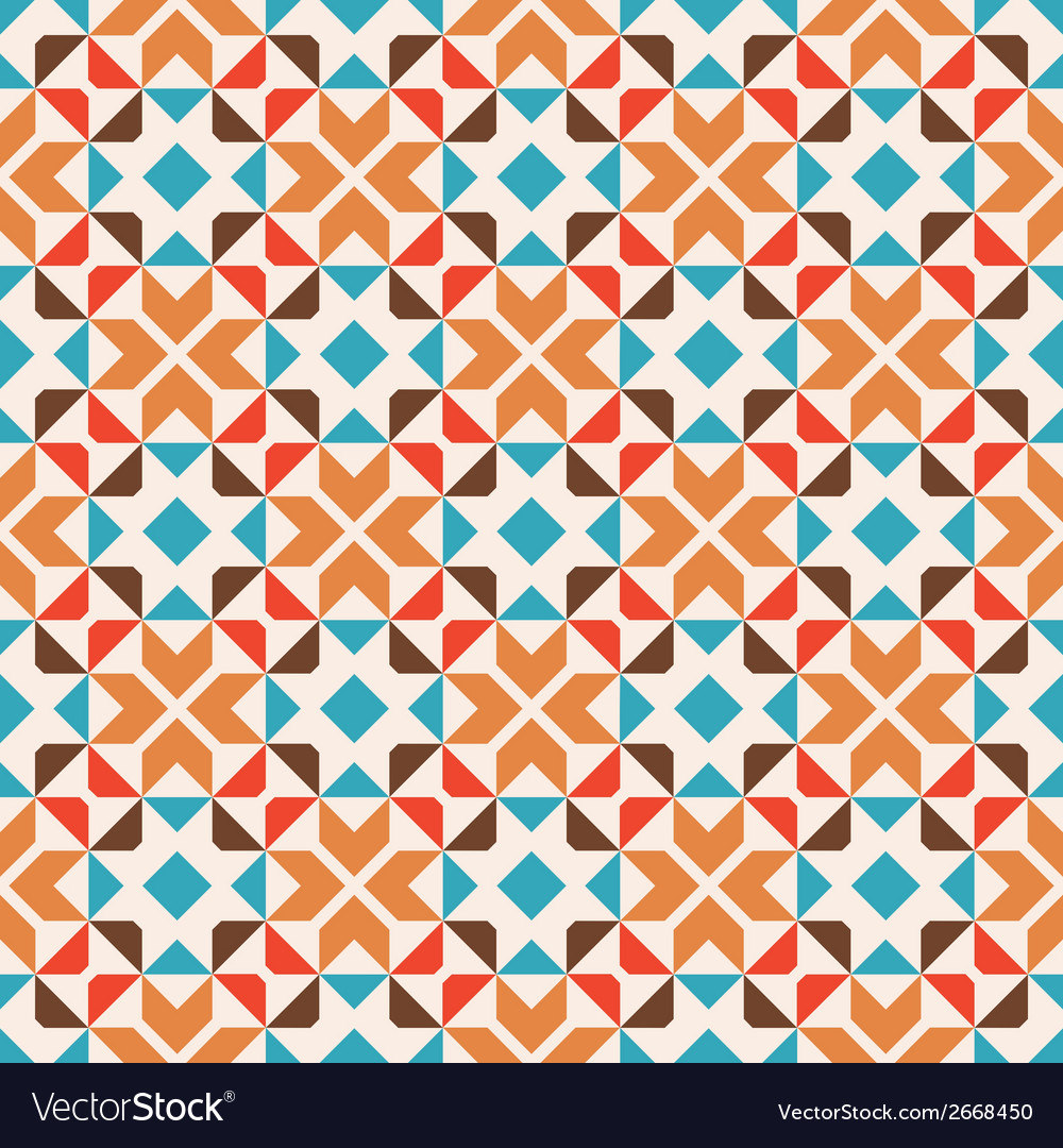 Seamless geometric pattern abstract background vector | Price: 1 Credit (USD $1)