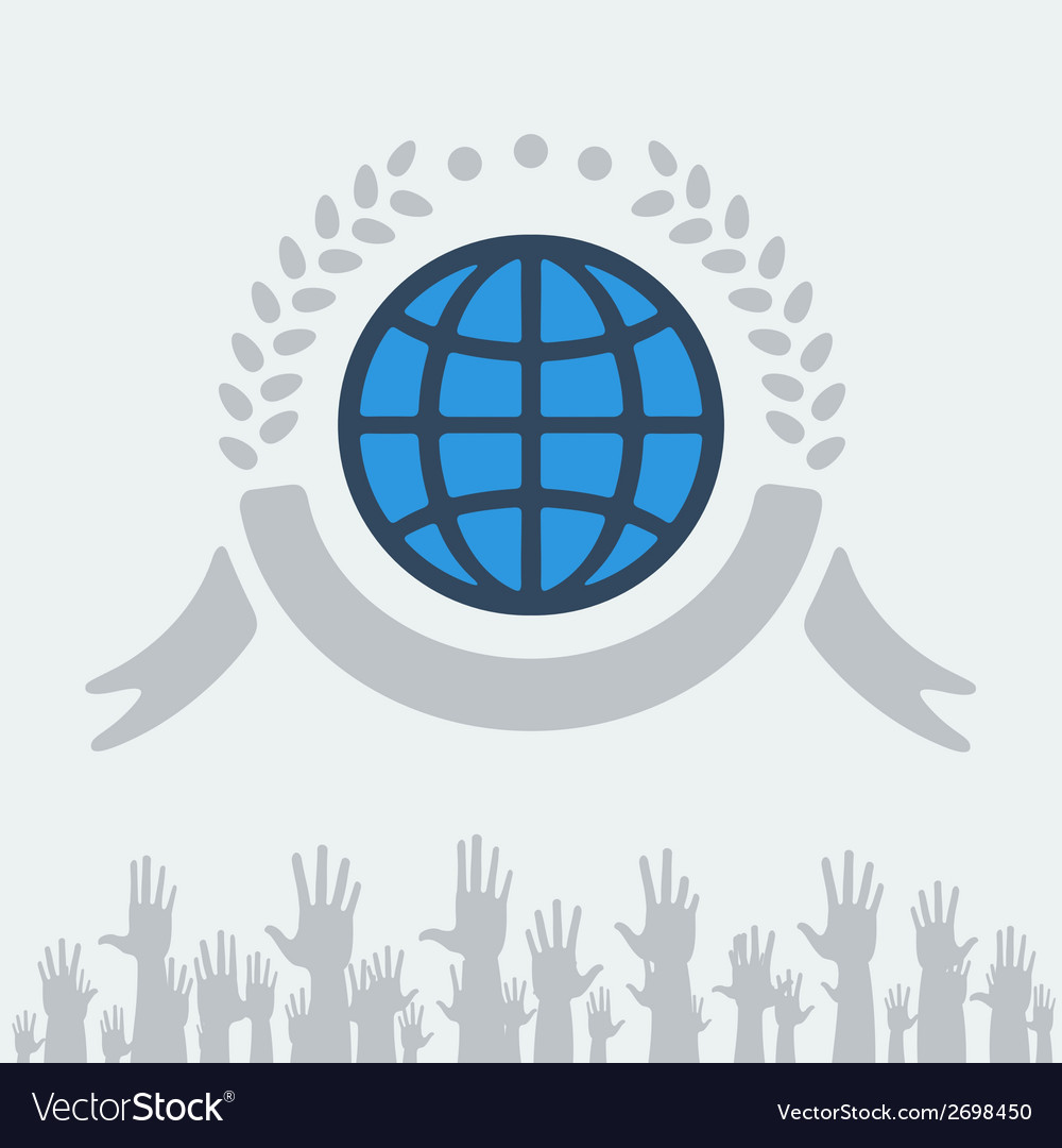 Symbol of peace vector | Price: 1 Credit (USD $1)