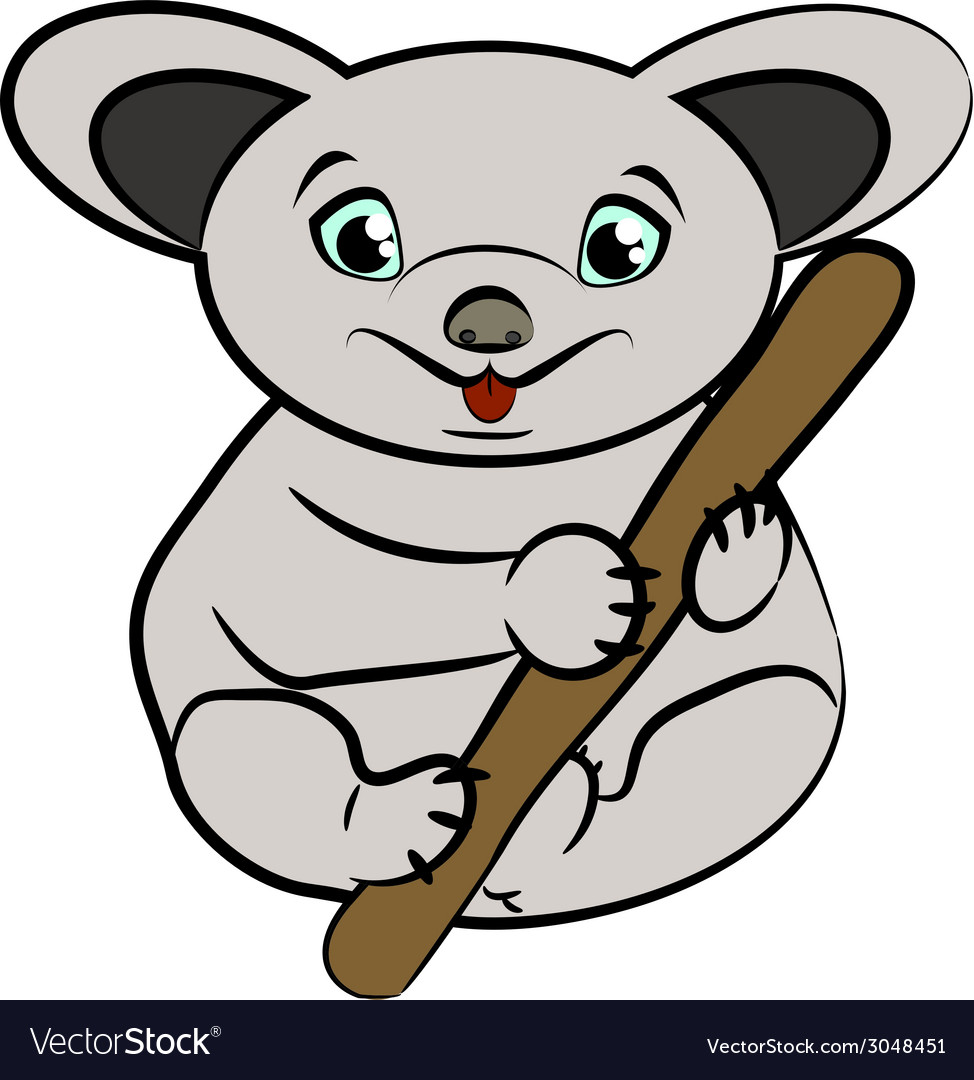 Koala vector | Price: 1 Credit (USD $1)