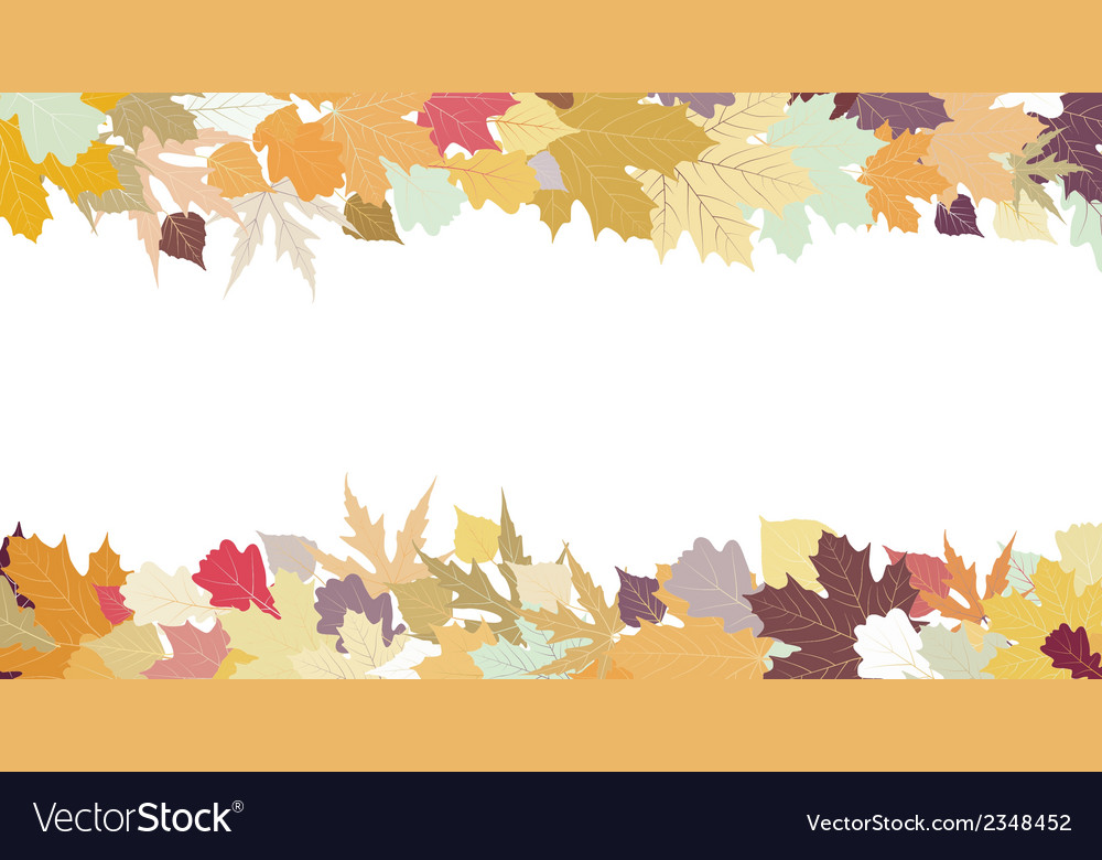 Autumn design with copy space eps 8 vector | Price: 1 Credit (USD $1)