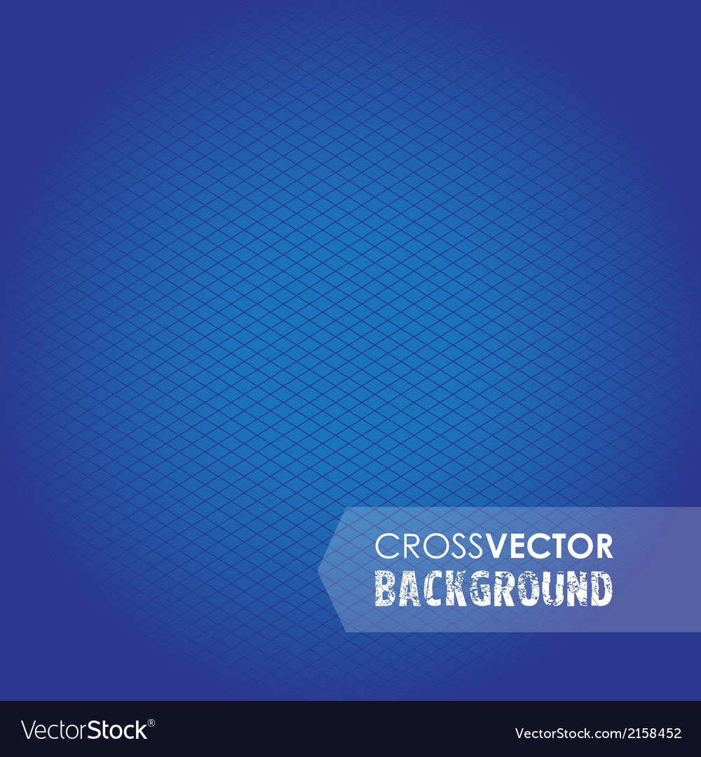 Cross background blue vector | Price: 1 Credit (USD $1)