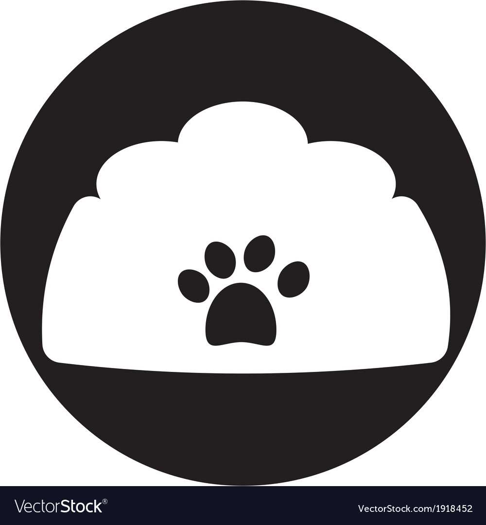 Dog bowl icon vector   Price: 1 Credit (USD $1)
