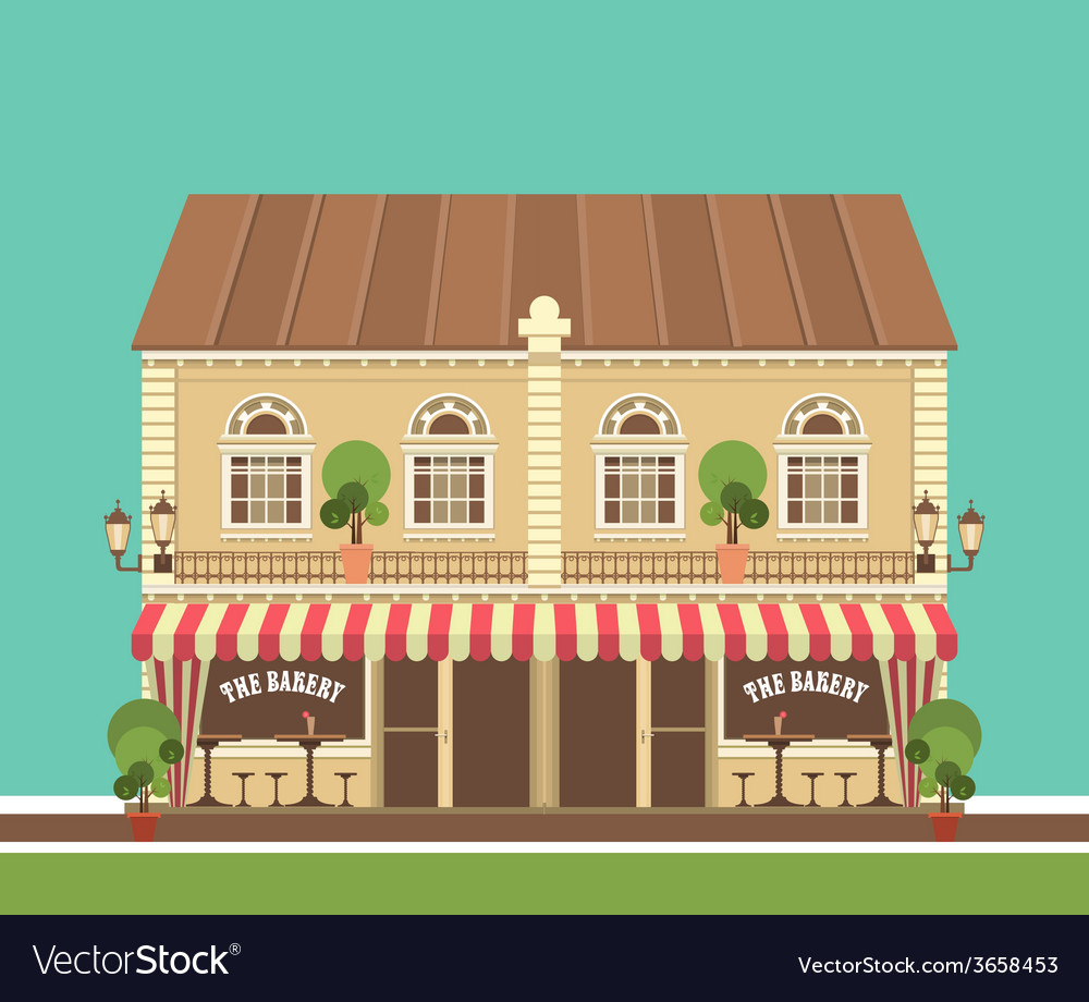 City building vector | Price: 1 Credit (USD $1)