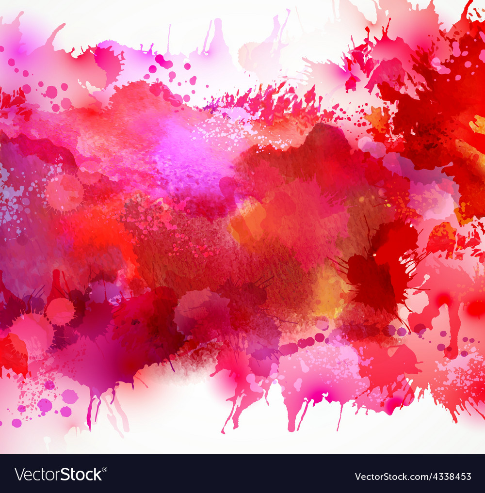 Red blots vector | Price: 1 Credit (USD $1)