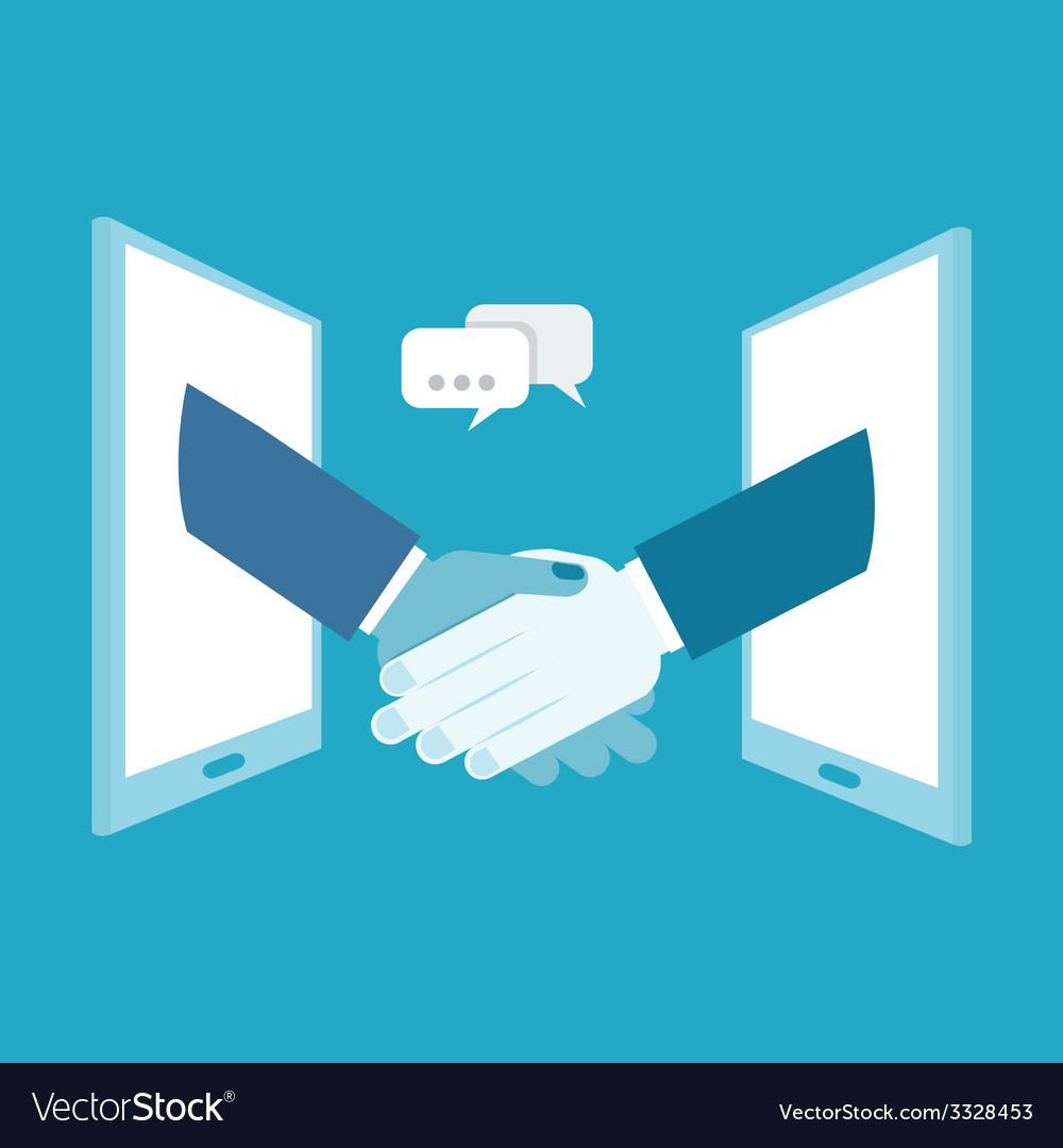 Shake hands business vector | Price: 1 Credit (USD $1)