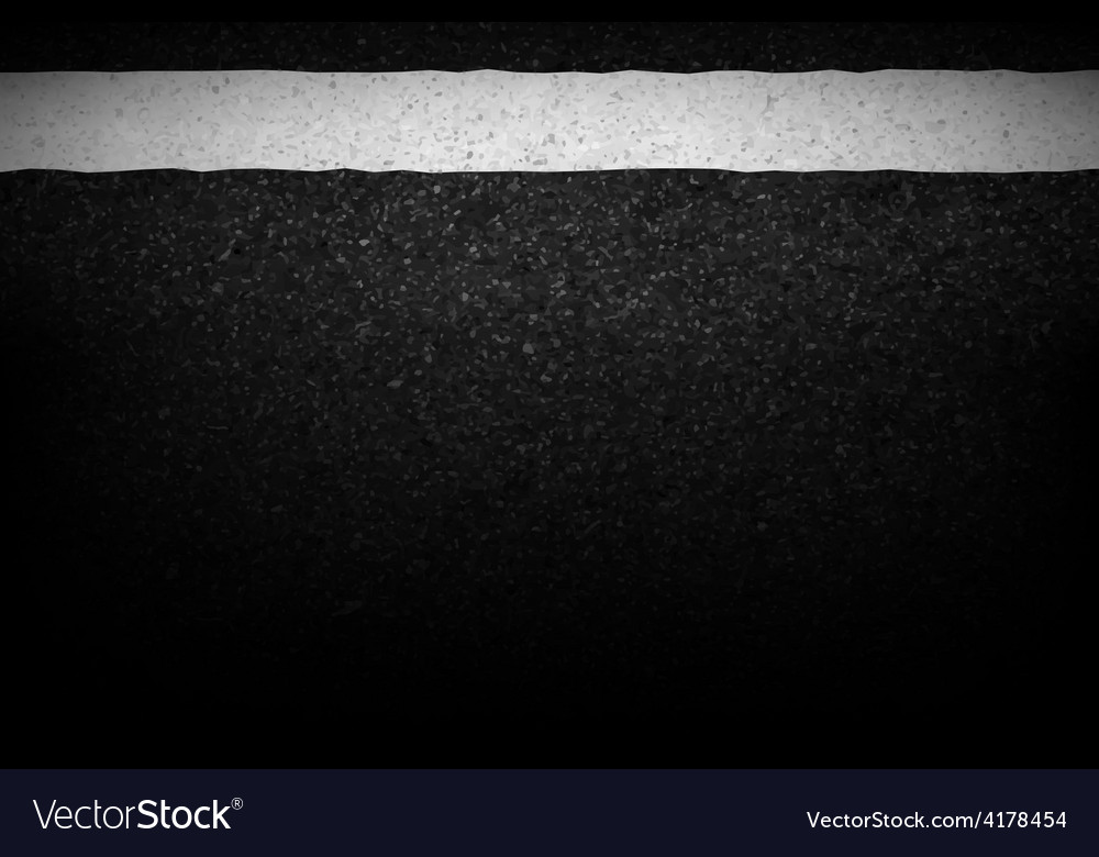 Asphalt texture with road markings background vector | Price: 1 Credit (USD $1)