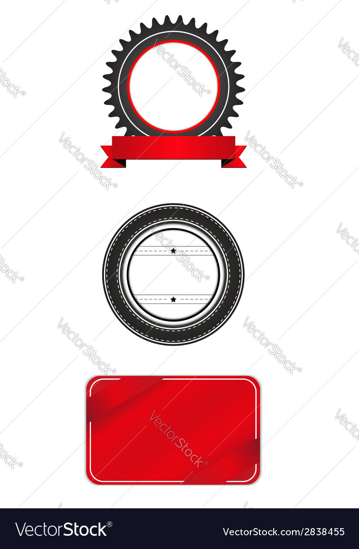 Badges and labels vector | Price: 1 Credit (USD $1)