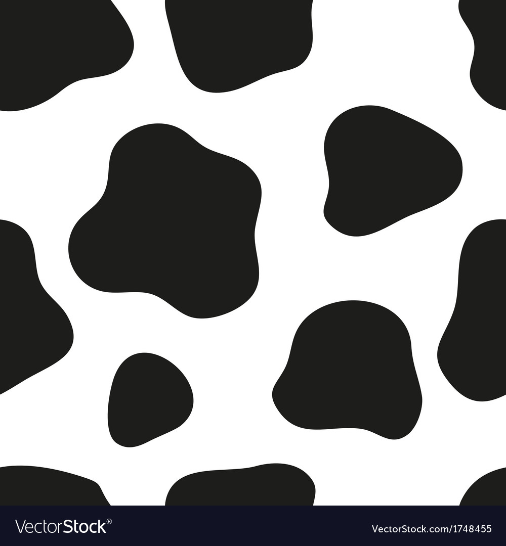 Cow background vector | Price: 1 Credit (USD $1)