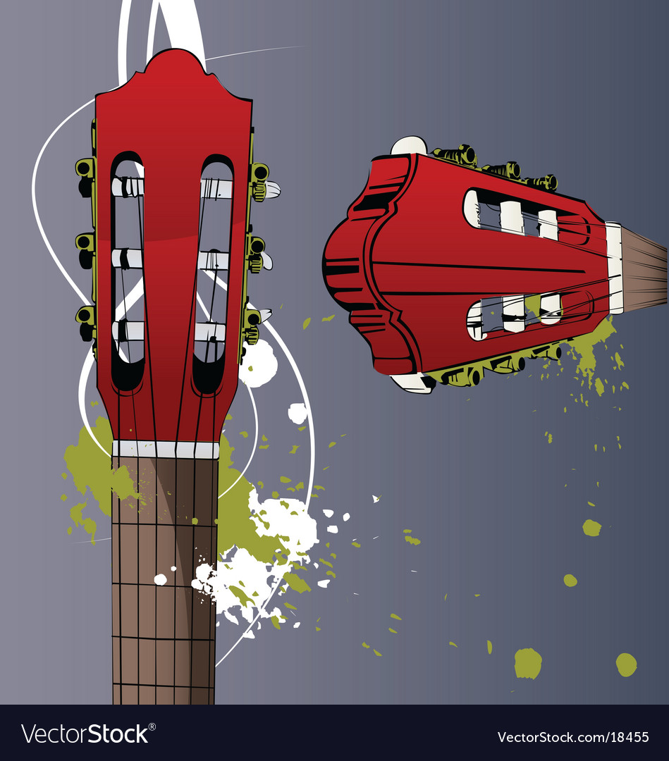 Neck guitar vector | Price: 1 Credit (USD $1)
