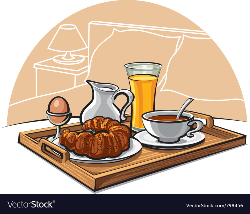 Hotel breakfast vector | Price: 3 Credit (USD $3)