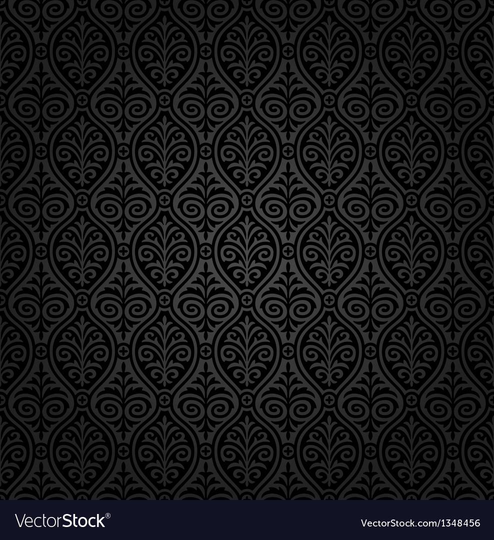 Seamless damask wallpaper vector   Price: 1 Credit (USD $1)