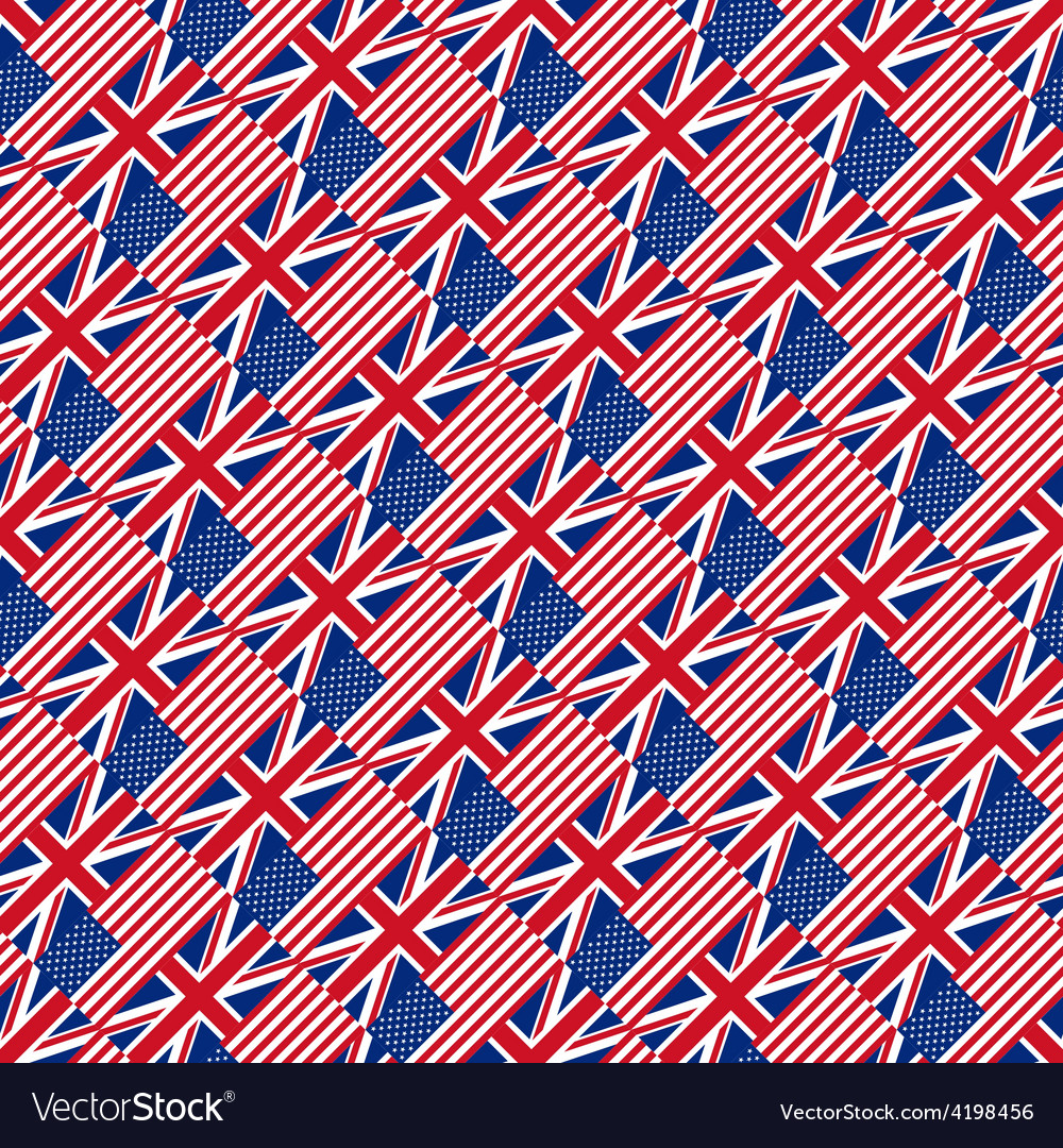 Seamless pattern with flags vector | Price: 1 Credit (USD $1)