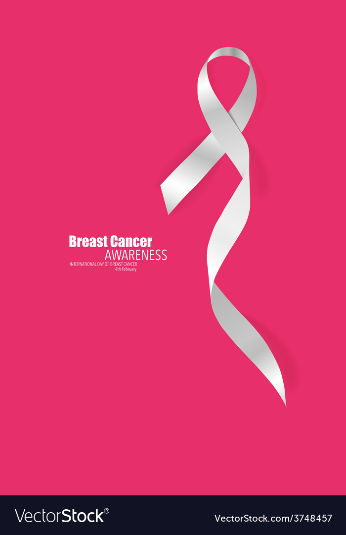 Breast cancer awareness ribbon vector | Price: 1 Credit (USD $1)