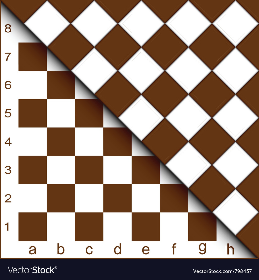 Chessboard half vector | Price: 1 Credit (USD $1)