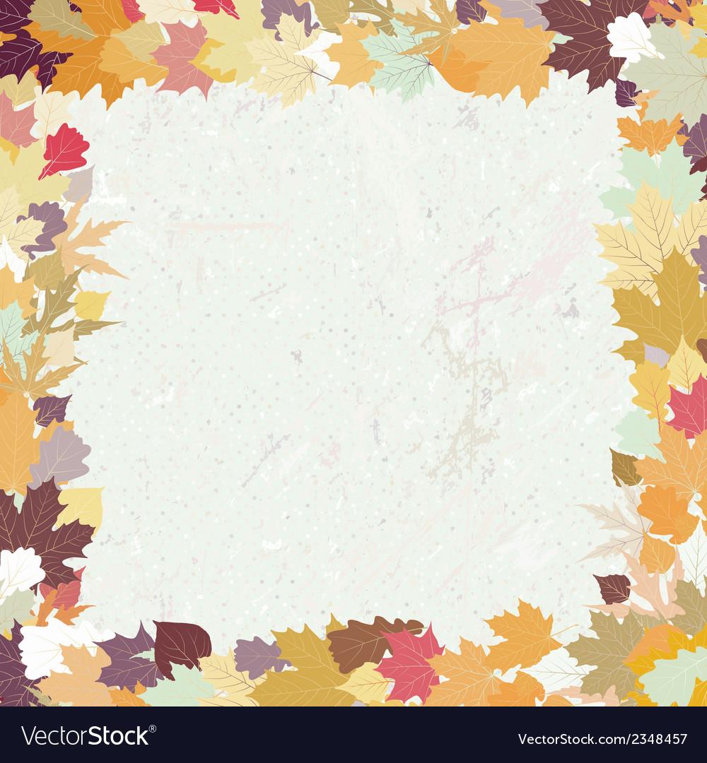Grunge autumn background eps 8 vector | Price: 1 Credit (USD $1)
