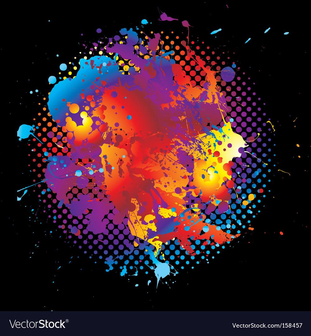 Grunge rainbow vector | Price: 1 Credit (USD $1)