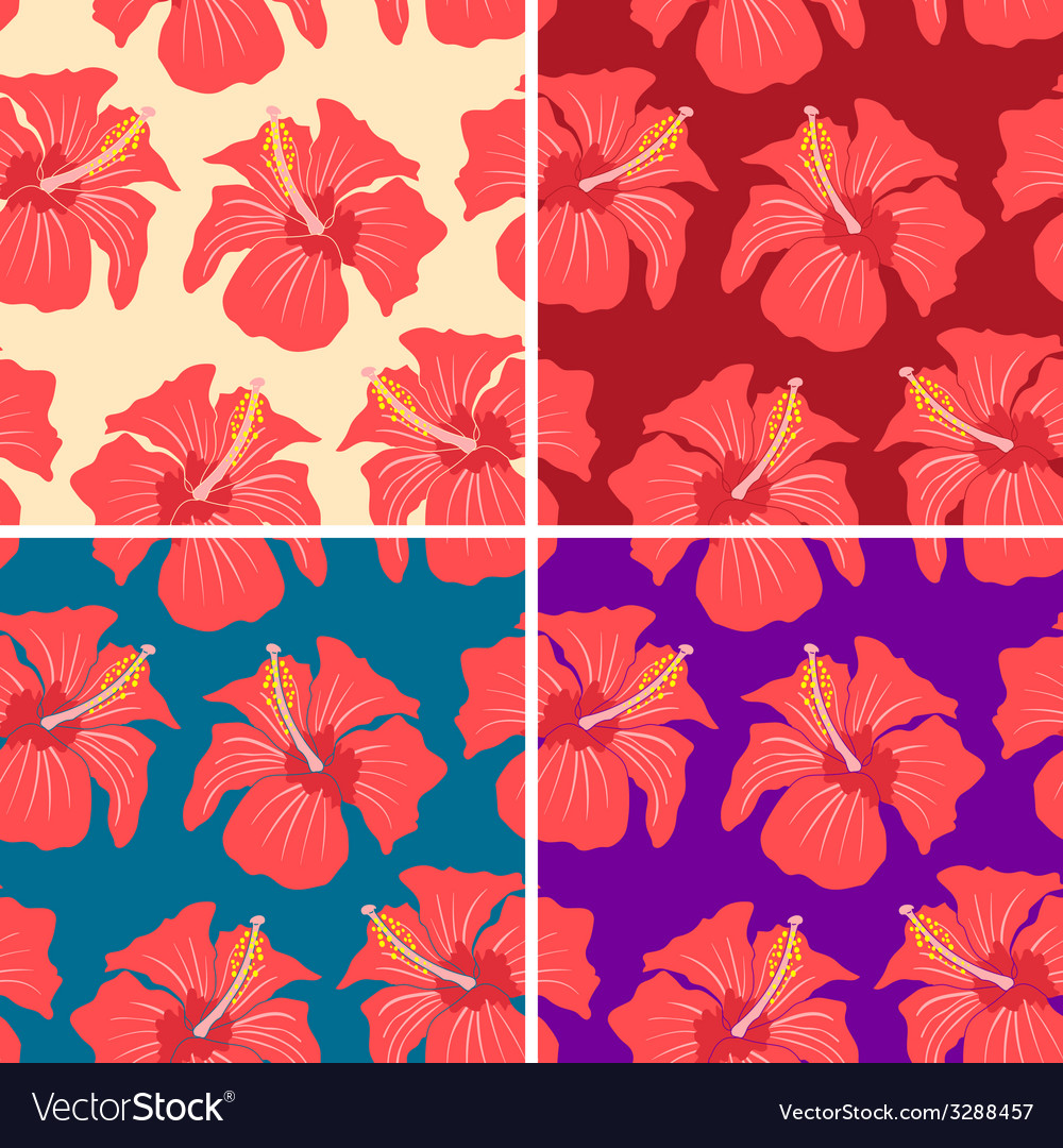Red flowers vector | Price: 1 Credit (USD $1)