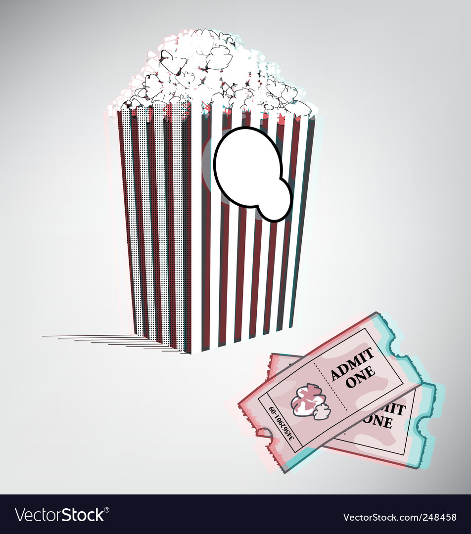 3d movie vector | Price: 1 Credit (USD $1)