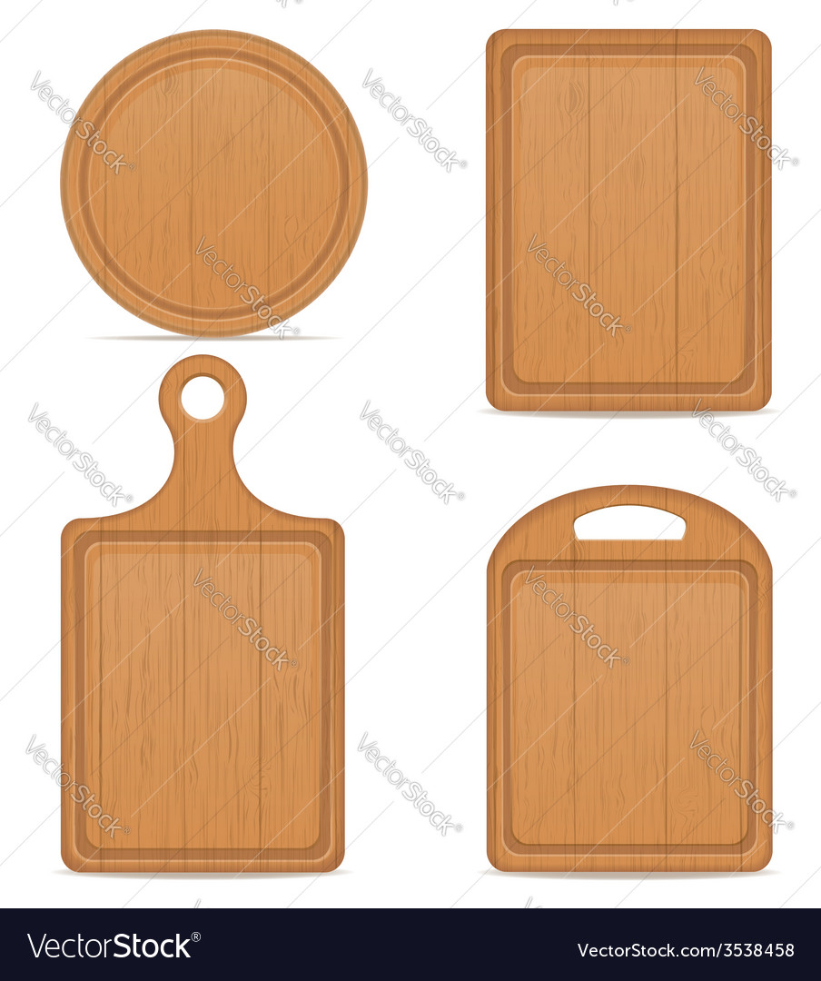 Cutting board 05 vector | Price: 1 Credit (USD $1)
