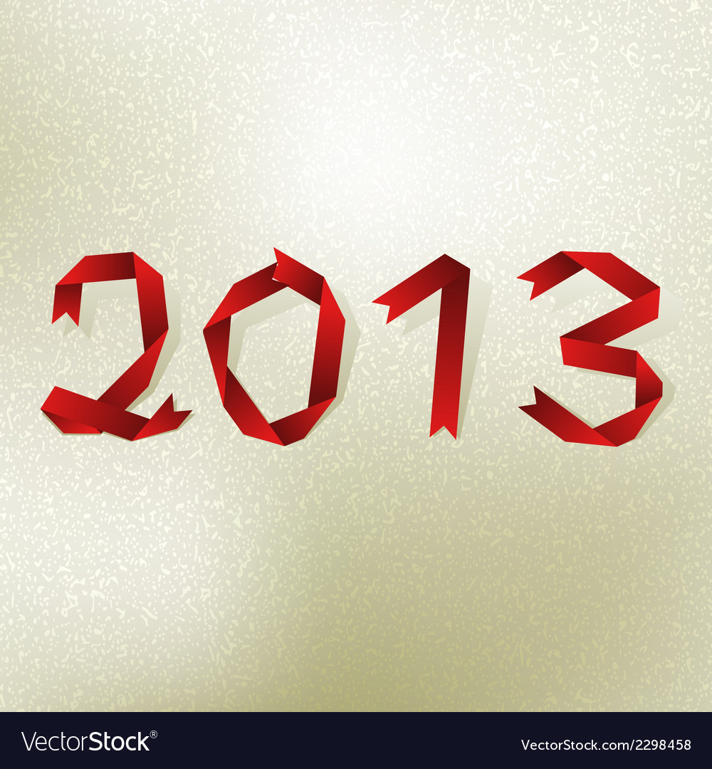 New 2013 year greeting card  eps8 vector | Price: 1 Credit (USD $1)