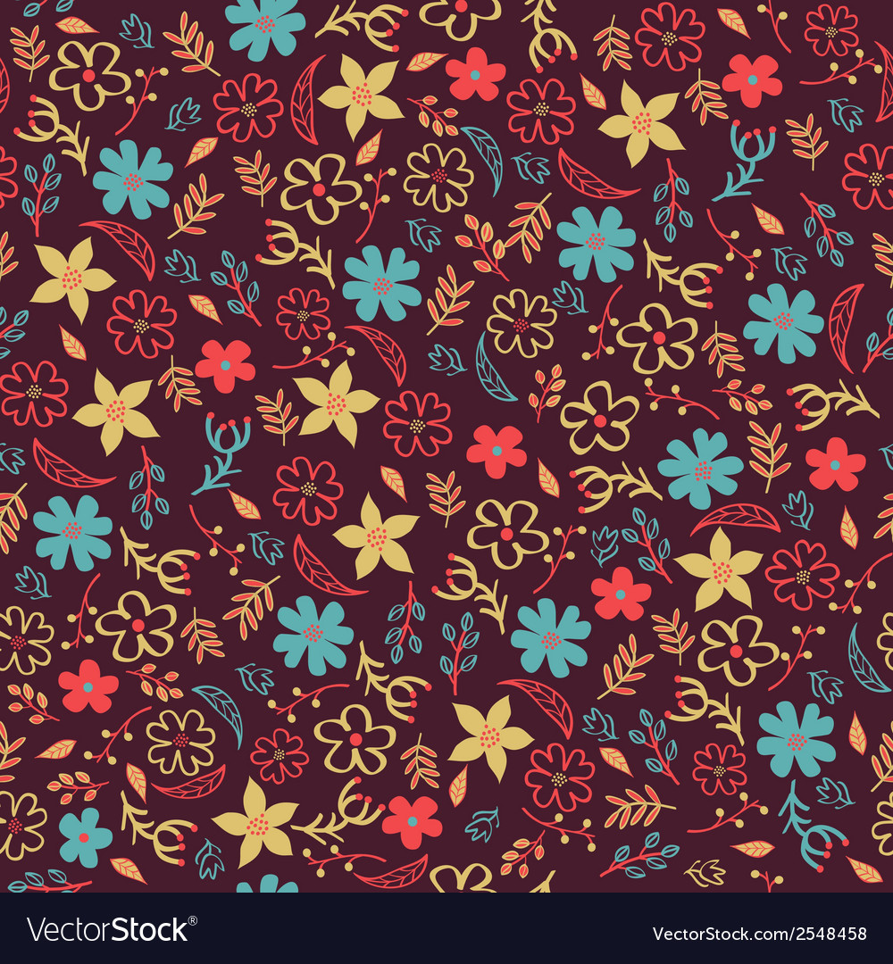 Seamless floral pattern can be used for invitation vector   Price: 1 Credit (USD $1)