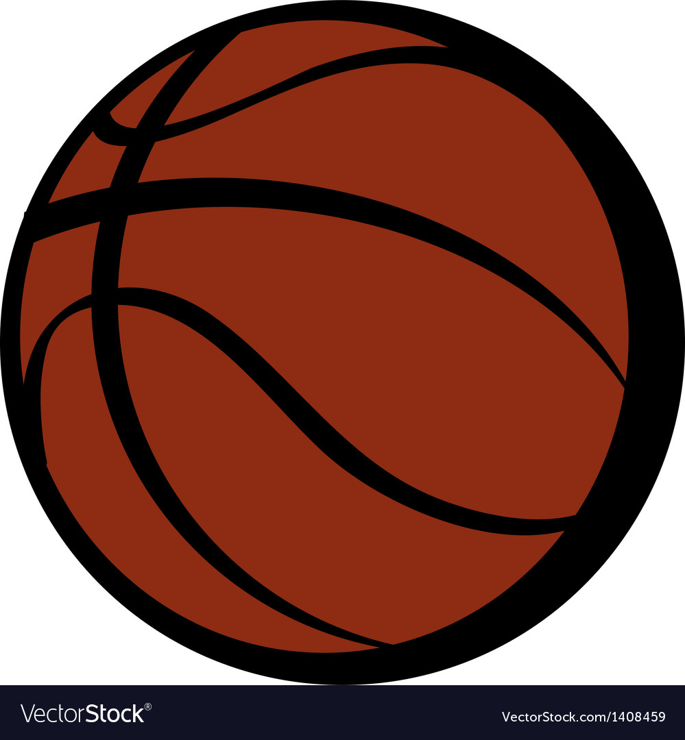 A basketball vector | Price: 1 Credit (USD $1)