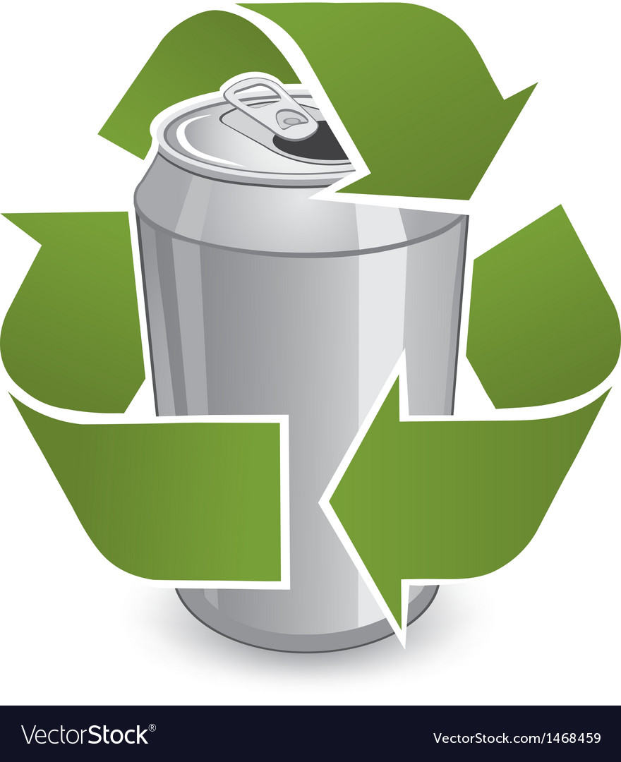 Recycle can vector | Price: 1 Credit (USD $1)