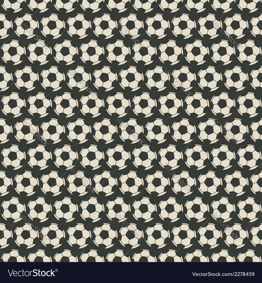 Soccer seamless pattern vector | Price: 1 Credit (USD $1)