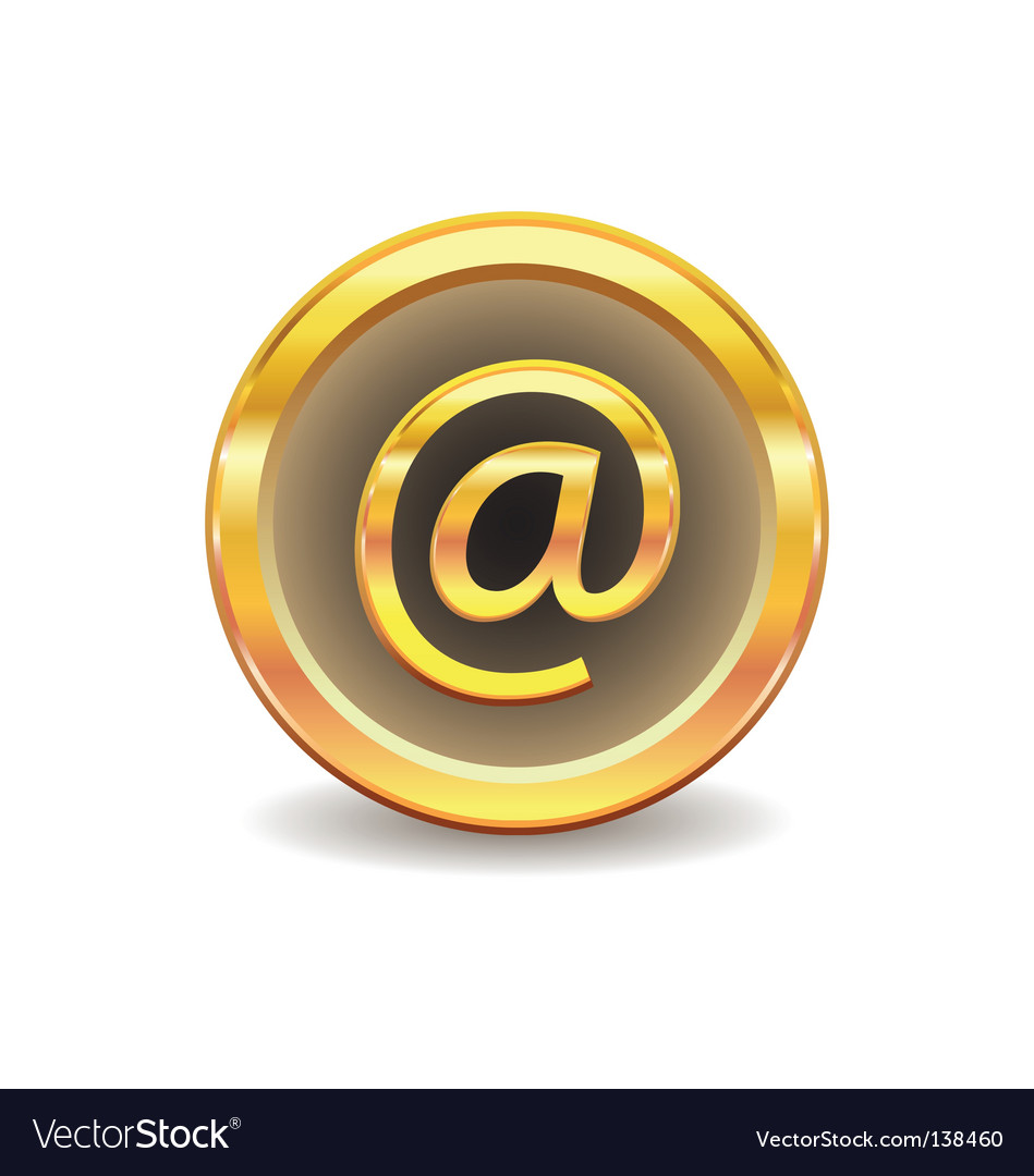 Email sign vector | Price: 1 Credit (USD $1)
