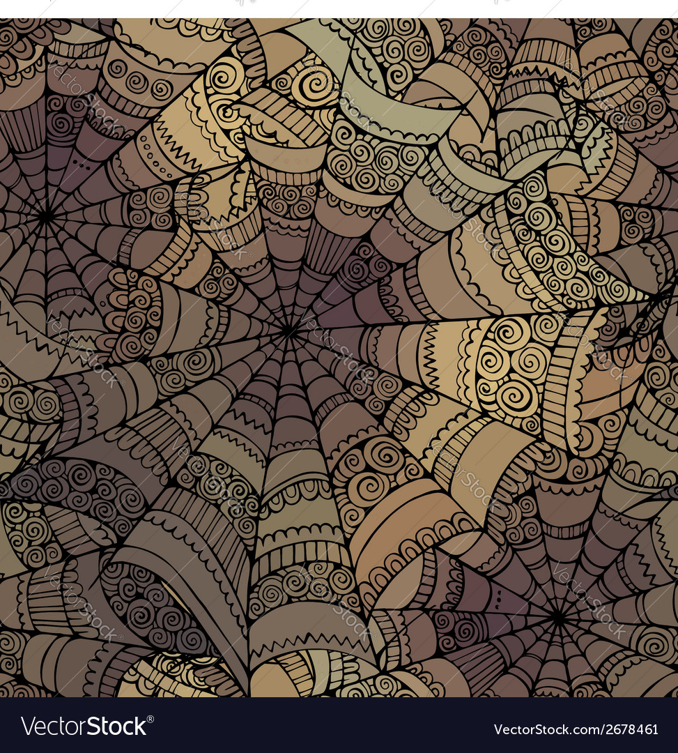 Decorative spider web pattern vector | Price: 1 Credit (USD $1)