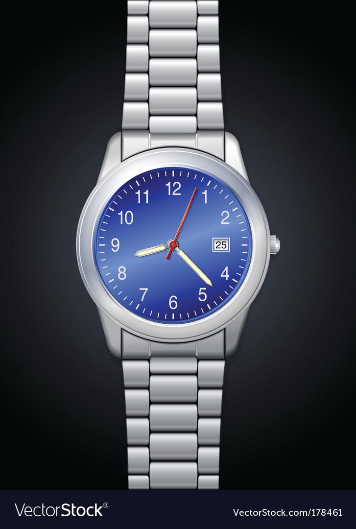 Photorealistic watch vector | Price: 1 Credit (USD $1)