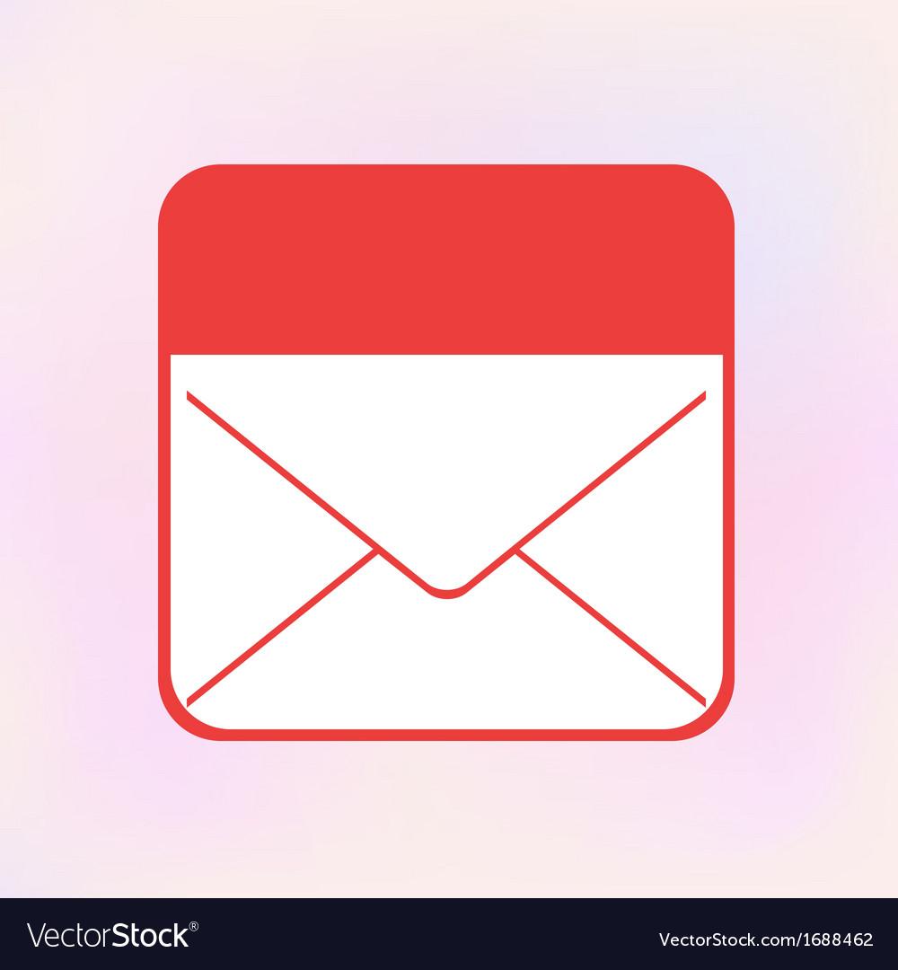 Envelope app icon eps10 vector | Price: 1 Credit (USD $1)