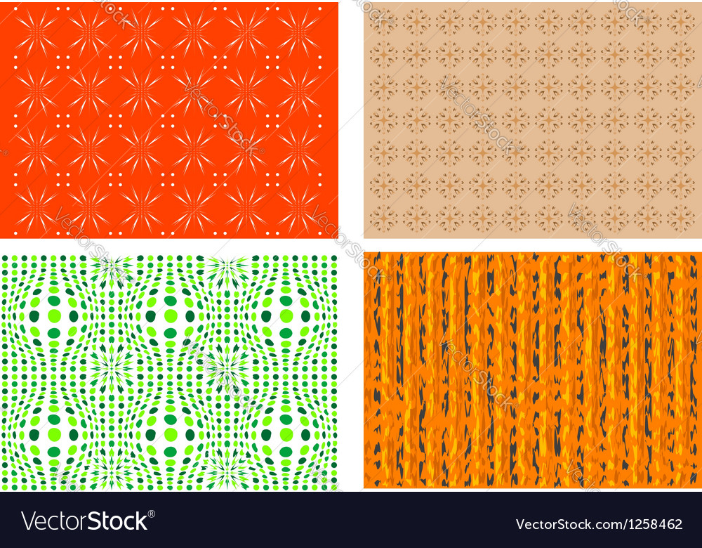 Four colorful backgrounds vector | Price: 1 Credit (USD $1)