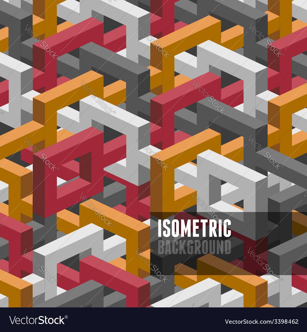 Isometry background vector   Price: 1 Credit (USD $1)