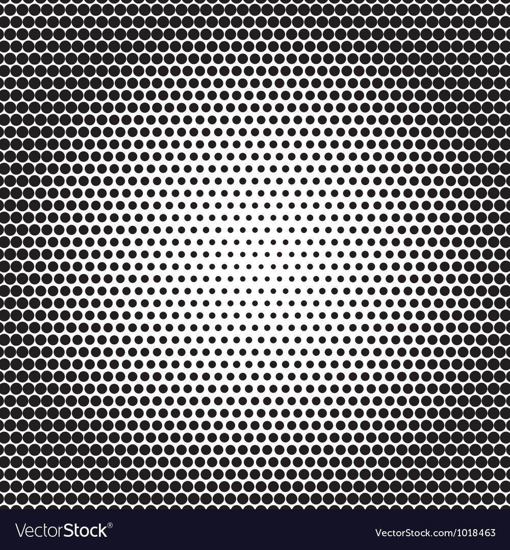 Abstract black white background with dots vector | Price: 1 Credit (USD $1)