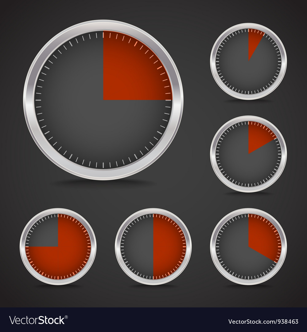 Circular indicator vector | Price: 1 Credit (USD $1)
