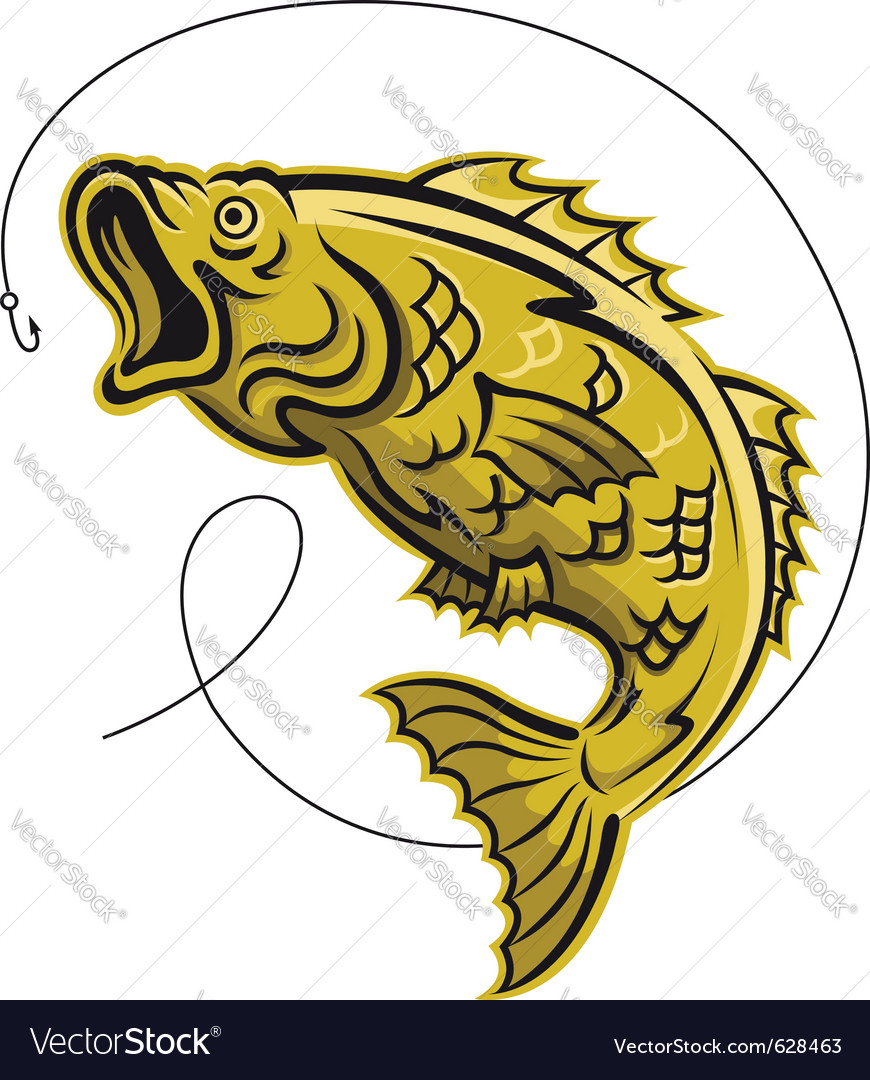 Game fish vector | Price: 1 Credit (USD $1)