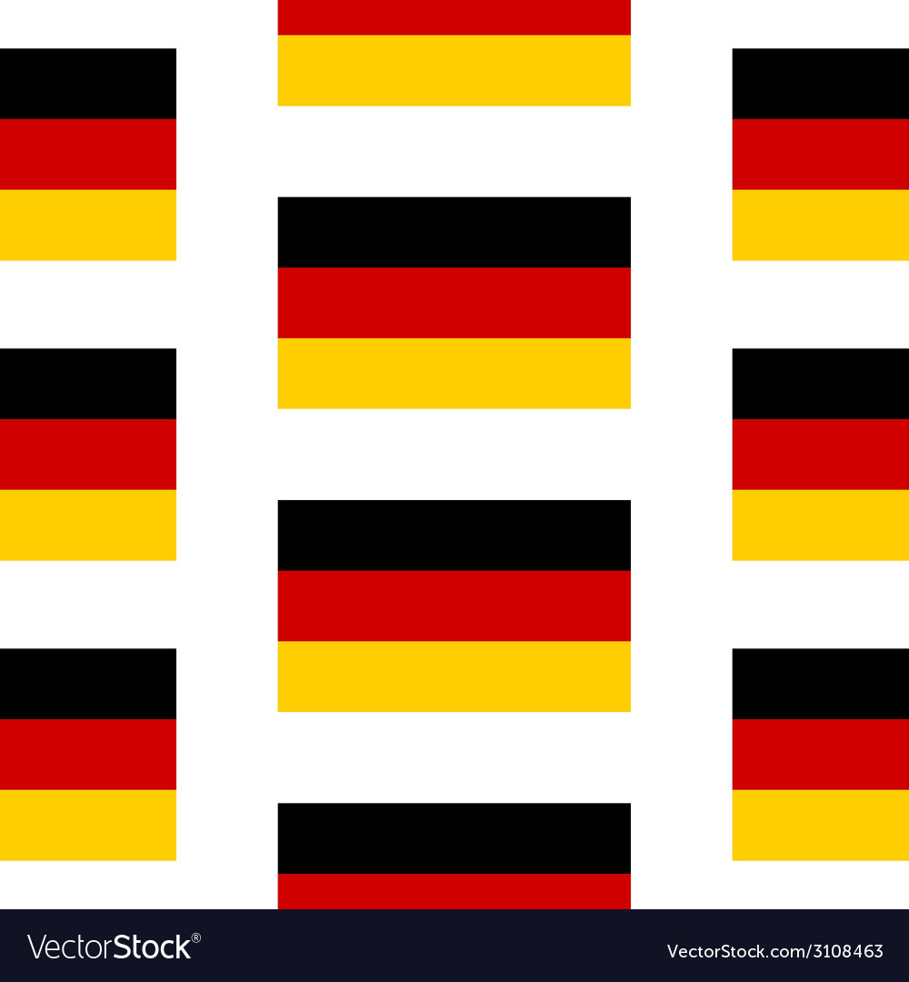 Germany flag seamless pattern vector | Price: 1 Credit (USD $1)