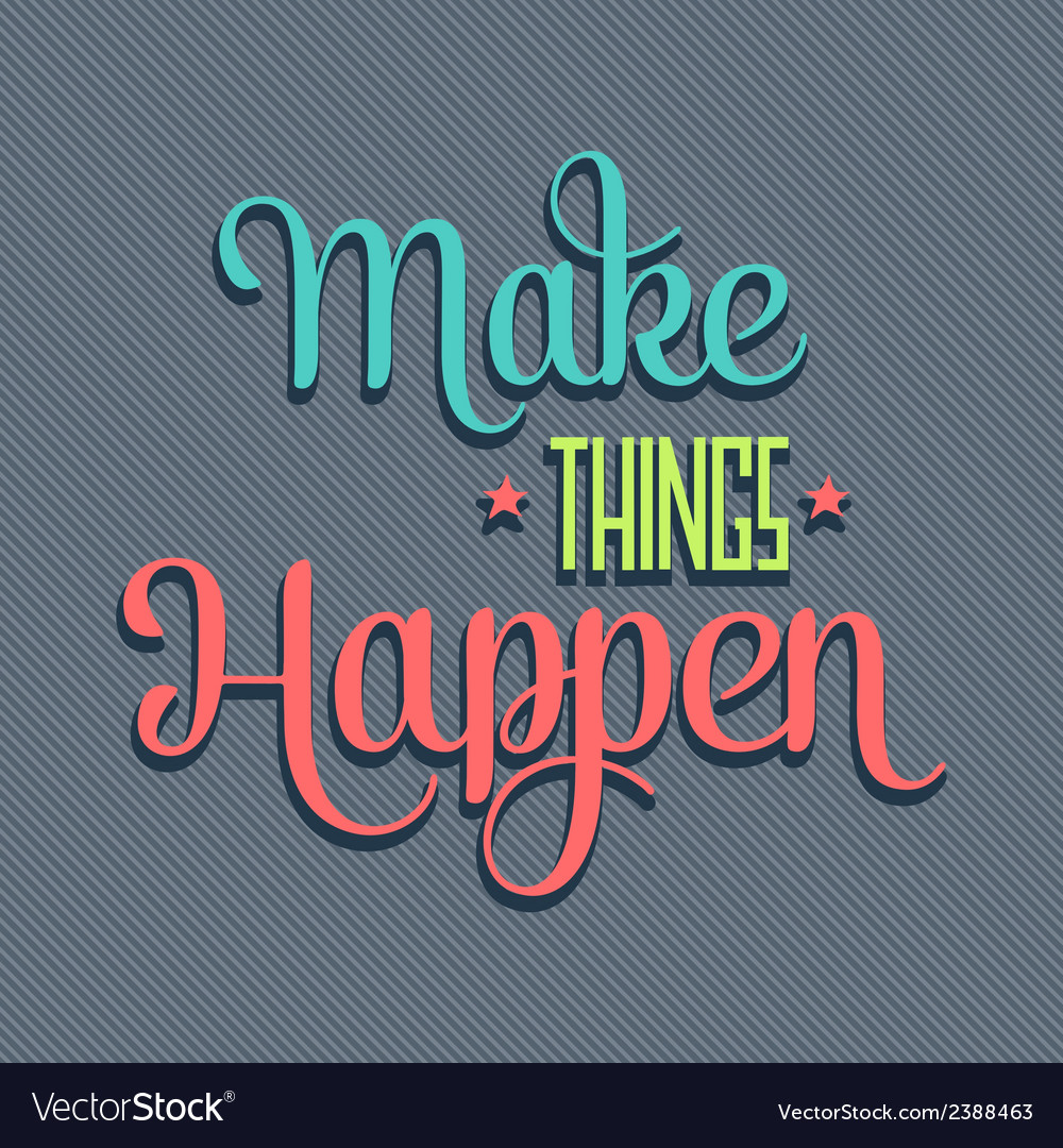 Make things 7 vector | Price: 1 Credit (USD $1)