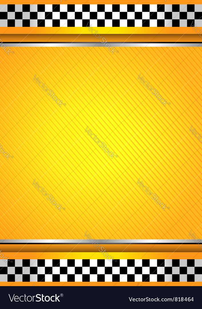 Racing background taxi vector | Price: 1 Credit (USD $1)