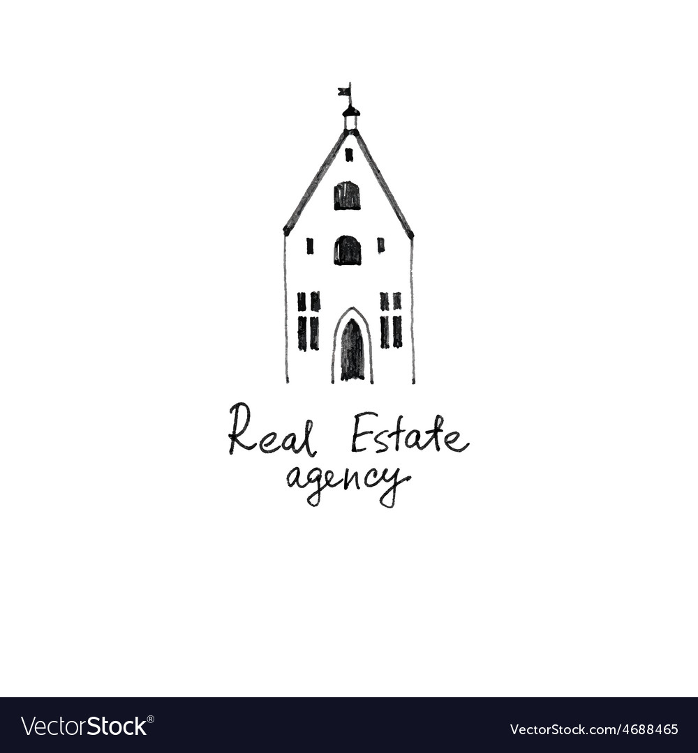 Real estate logo template vector | Price: 1 Credit (USD $1)