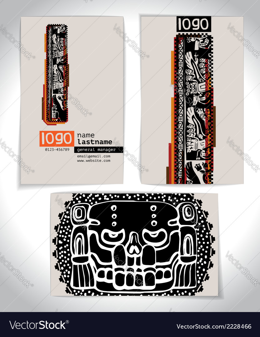 Ancient business card design letter l vector   Price: 1 Credit (USD $1)