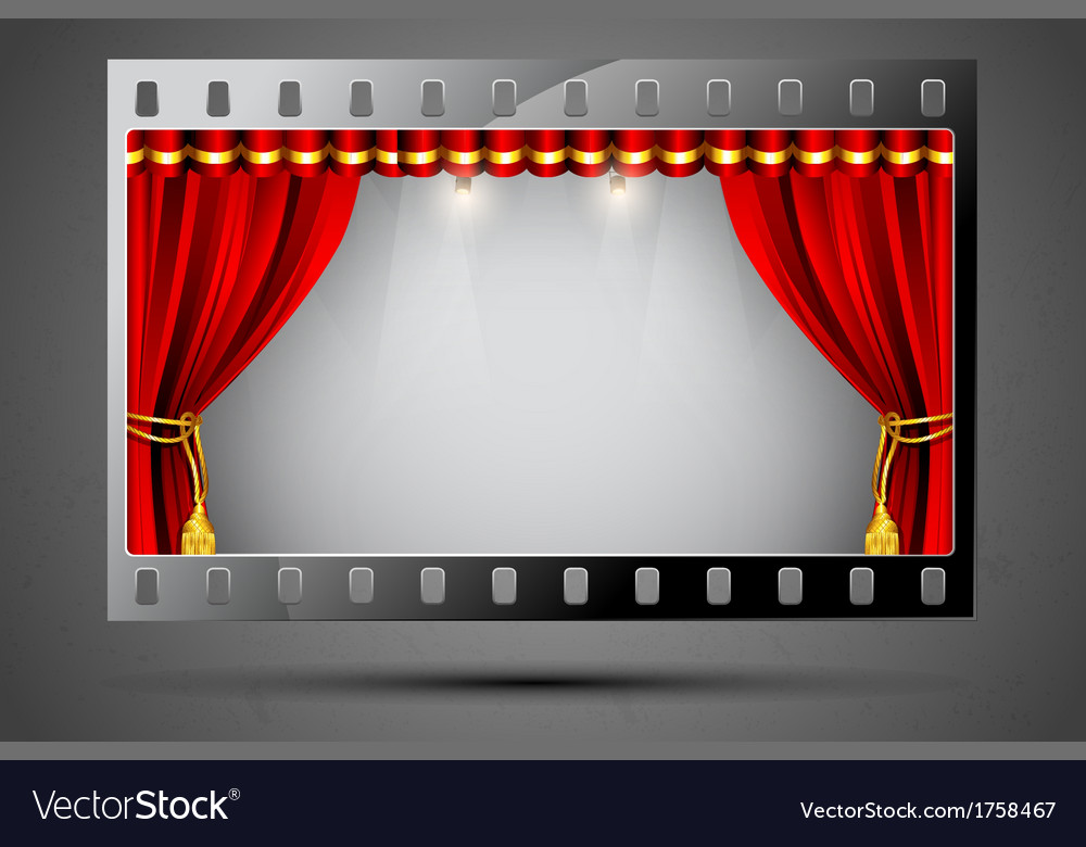 Cinema theater vector | Price: 1 Credit (USD $1)
