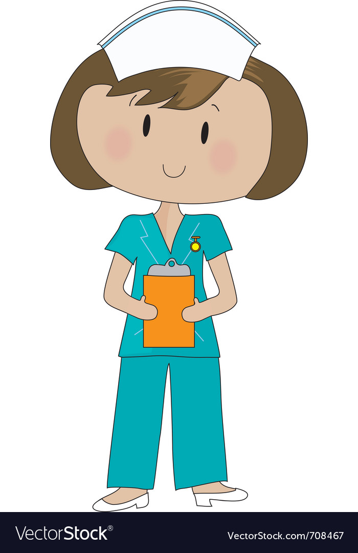 Nurse scrubs vector | Price: 1 Credit (USD $1)