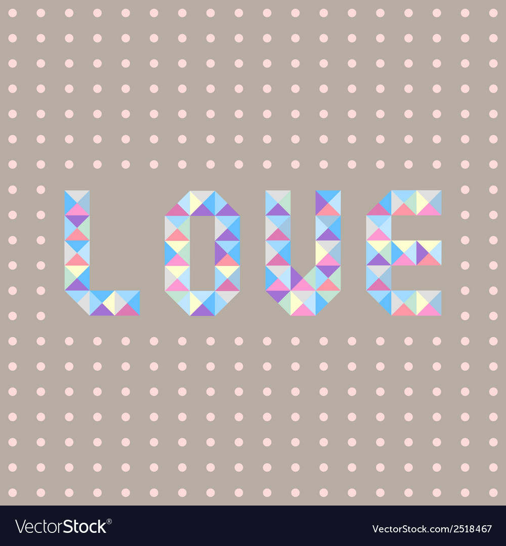 Pastel love letters1 vector | Price: 1 Credit (USD $1)